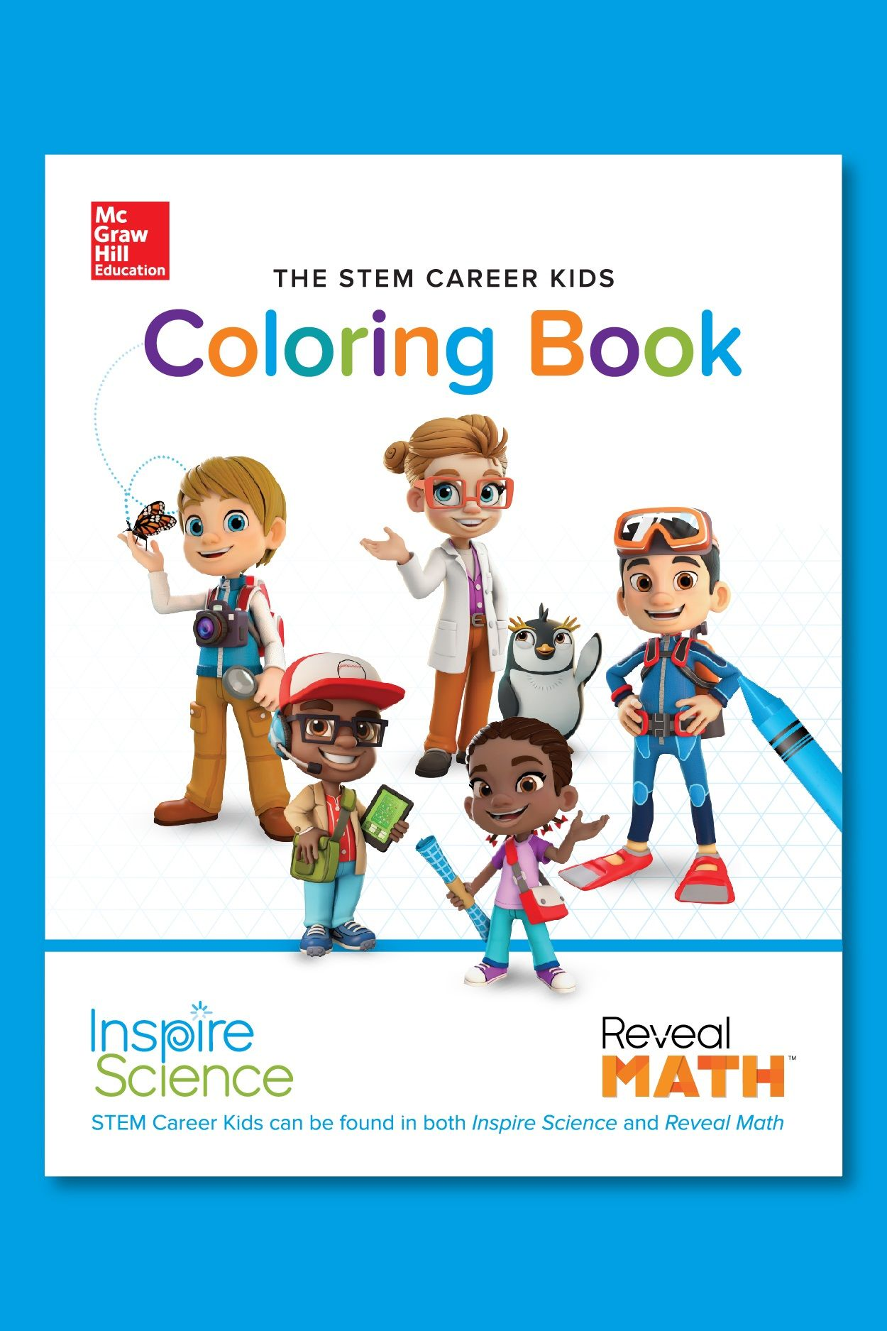 Download Our Exclusive Coloring Book To Share With Young