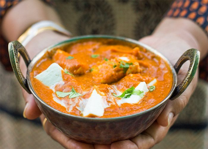 A healthy, low-fat version of the popular Paneer Makhani, but just as flavorful. The thick, luscious gravy substitutes yogurt for cream.