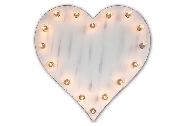 Super cute light up heart props for photo booth and decorations... maybe in red?