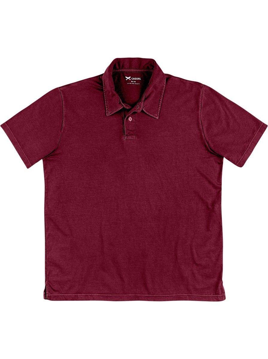 3228b14bec Camisa Polo Masculina Em Algodão Na Modelagem Regular