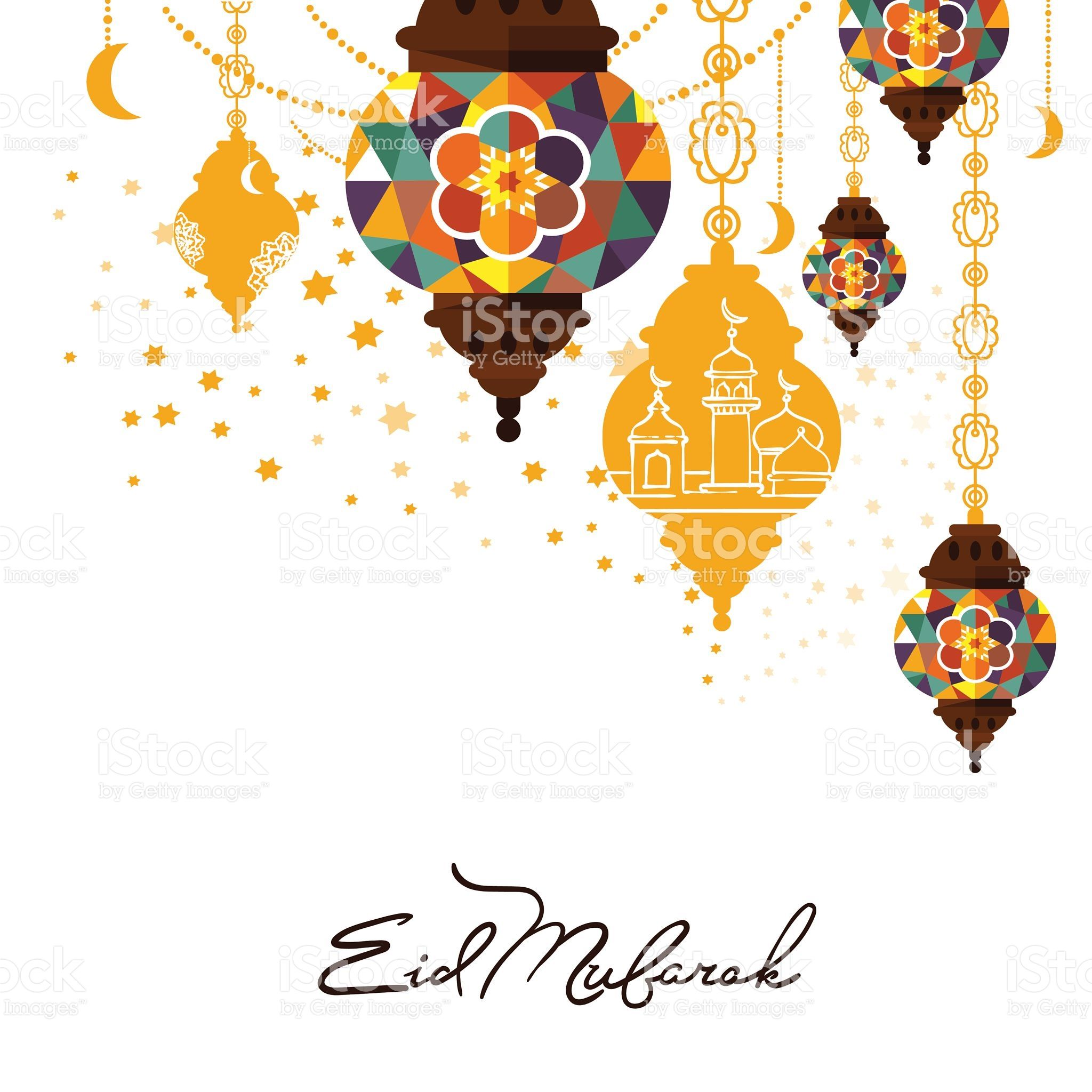 Eid mubarak greeting card vector illustration muslim festival eid mubarak arabic muslim card design royalty free stock vector art m4hsunfo