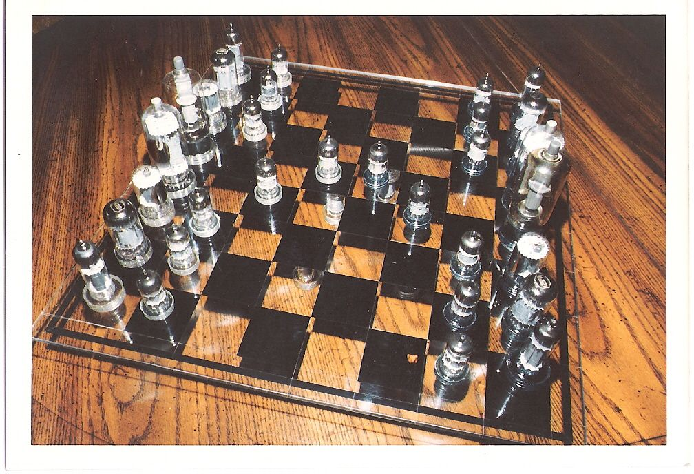 Some chess sets are works of art. Description from