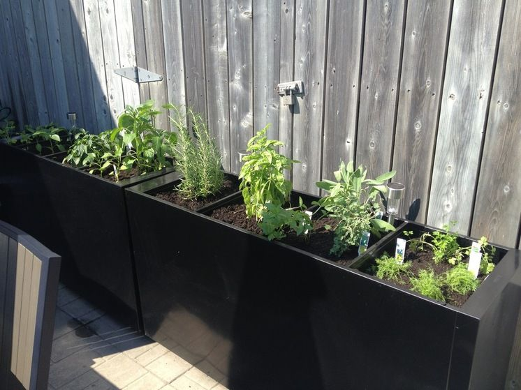 Planter Boxes Made Out Of Old Filing Cabinets Garden