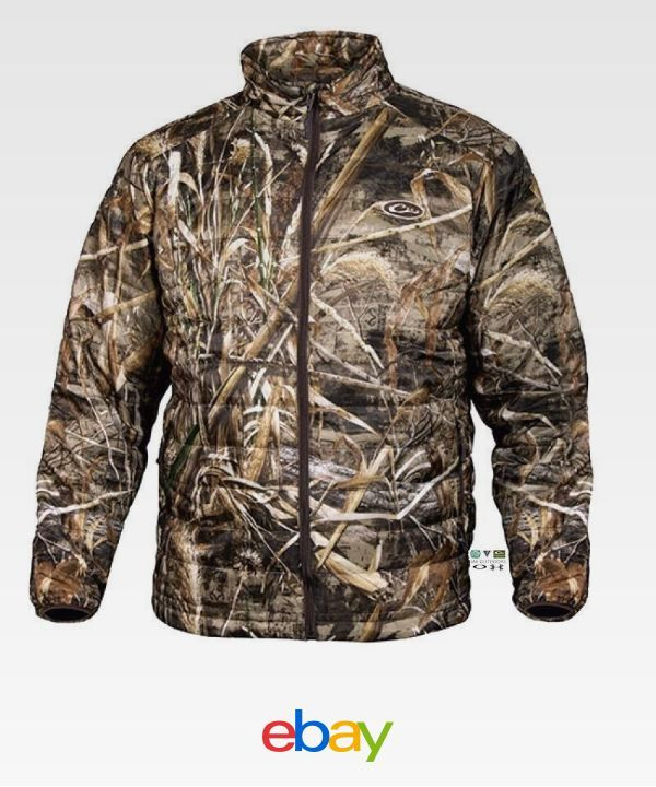 130ba656a866a Drake Waterfowl Systems Mst Synthetic Down Realtree Max-5 Full Zip Jacket  Dw1051