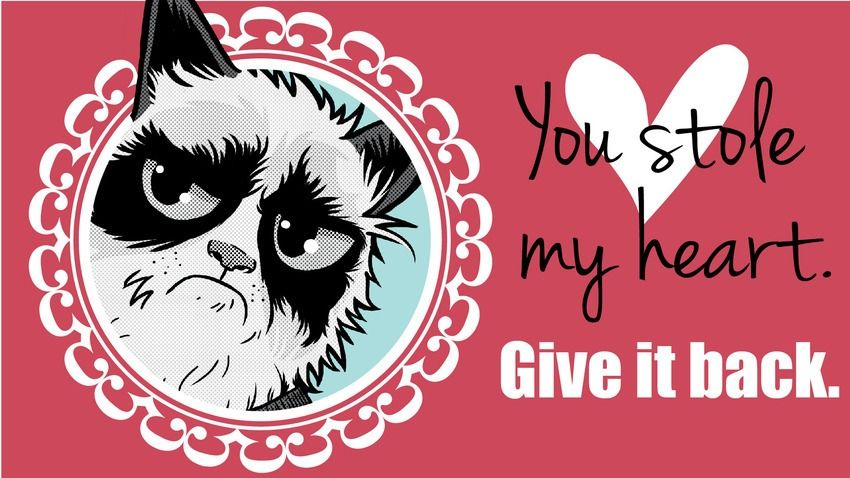 17 Best images about I hate Valentines Day – Cat Valentine Card
