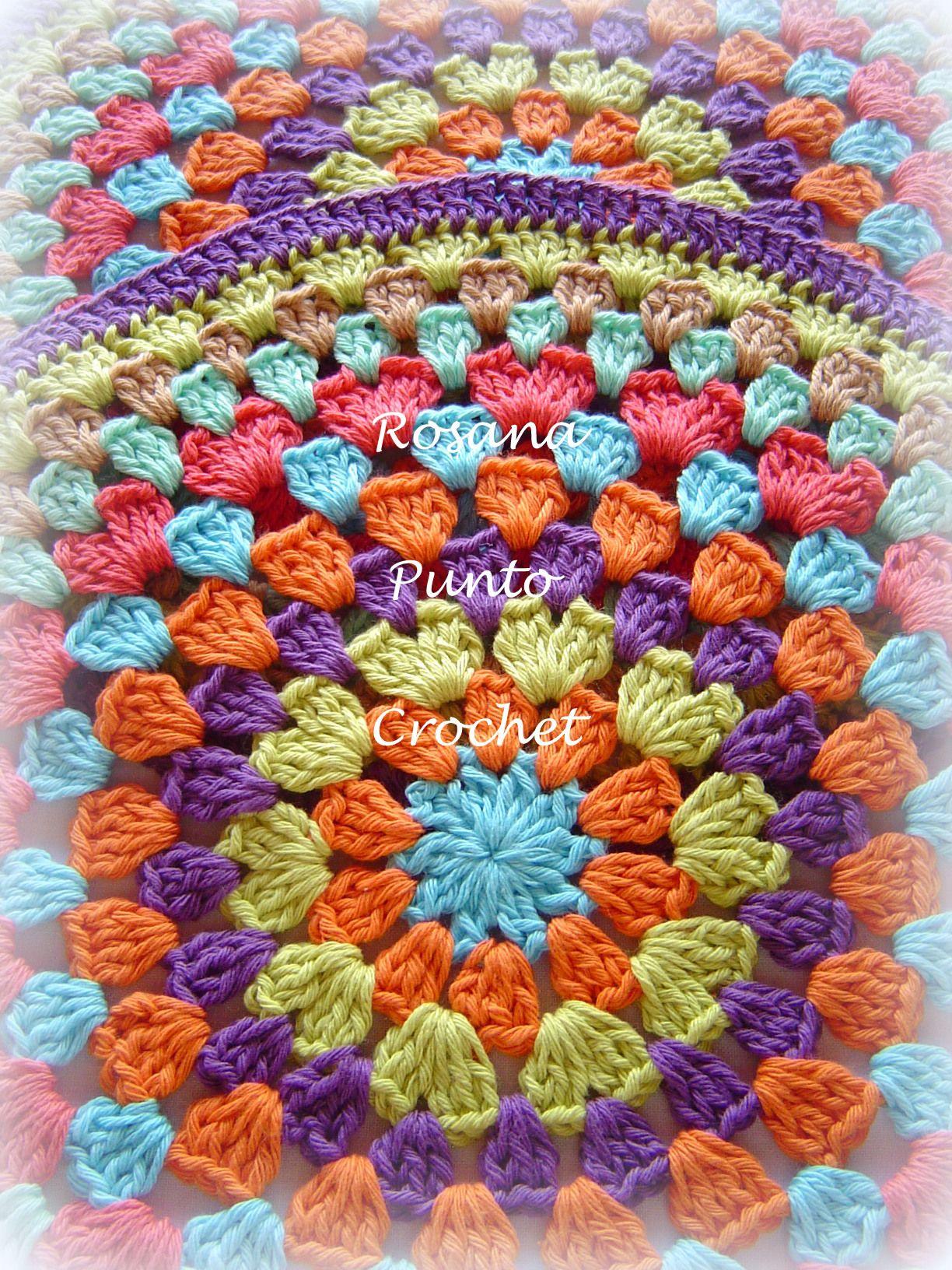 Posa platos . | Crochet | Pinterest | Platos, Manteles individuales ...