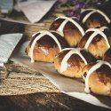 Hot Cross Buns for Pass the Cook Book Club