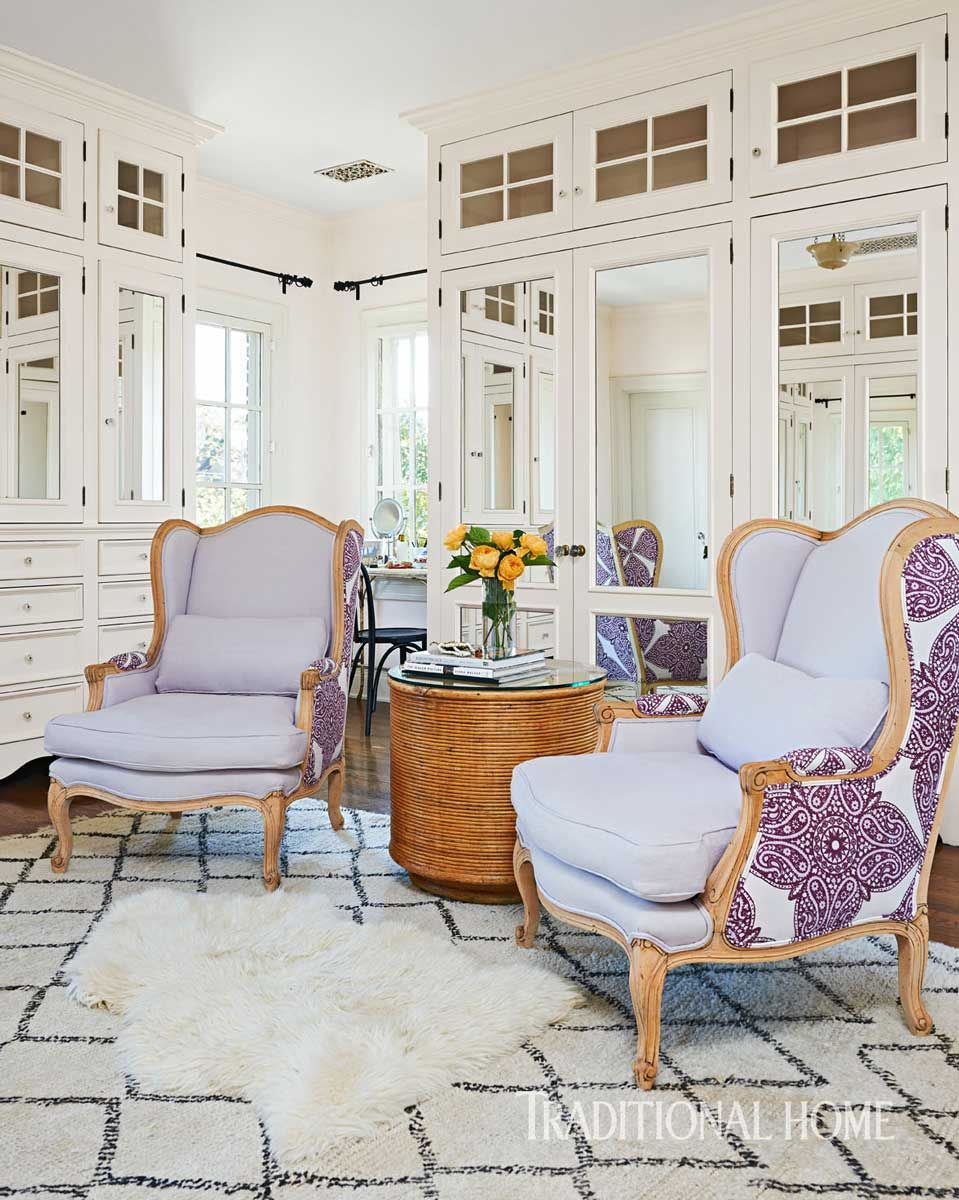 Classic Home Filled with Art & Vibrant Color | Traditional Home John ...