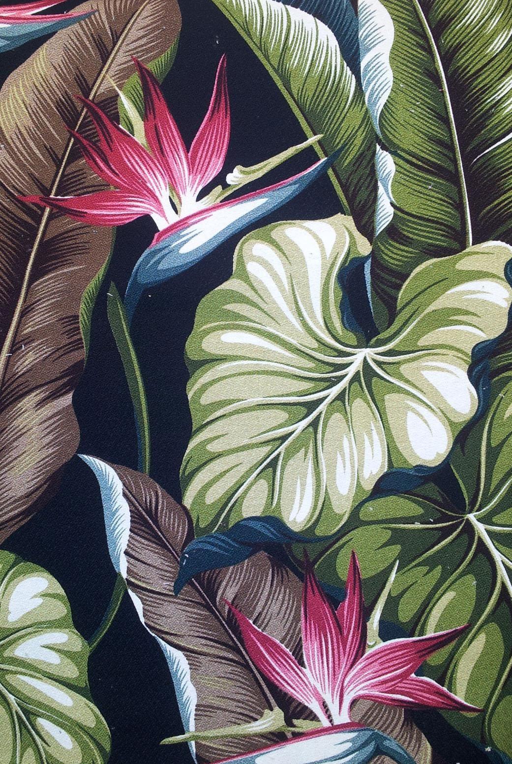 Hawaiian Floral Drapes Google Search Tattoos