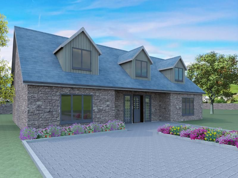 The Latest Of Our Modern Dormer Bungalow Designs Is The Whiteley An Excellent Bungalow Exterior Cottage House Exterior Barn Style House