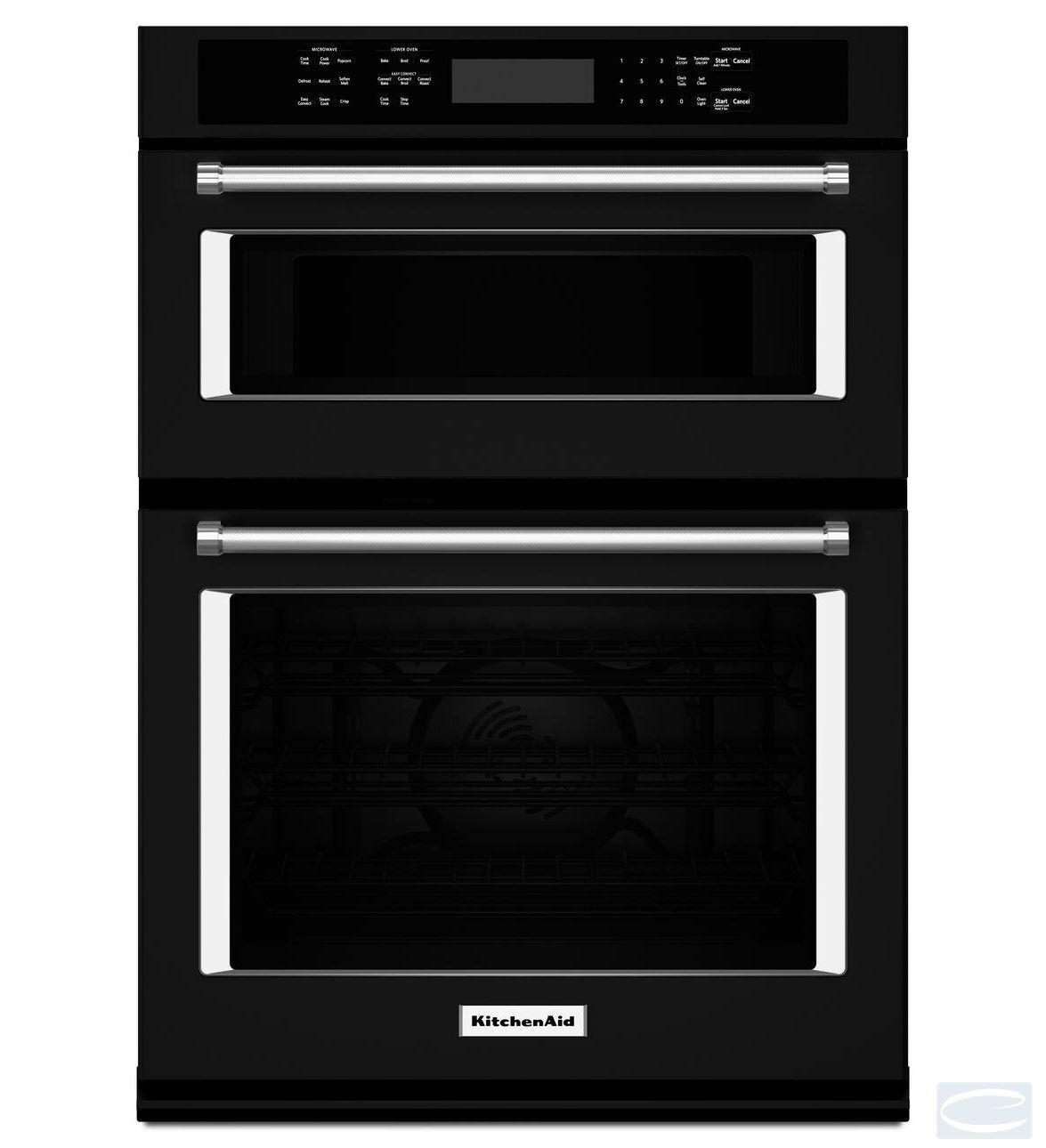 kitchenaid wall oven microwave combo koce500ess