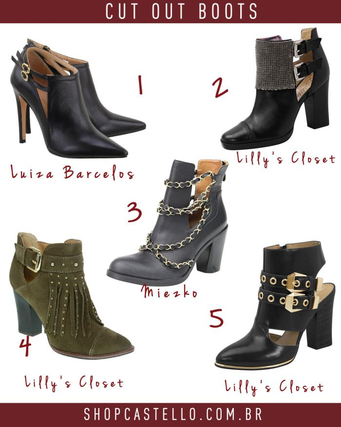 Cut out boots | Castello