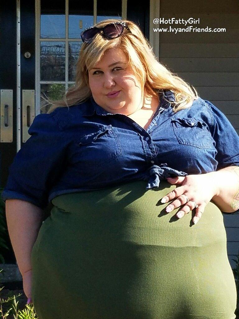 Stuffed Belly Bbw Feedee