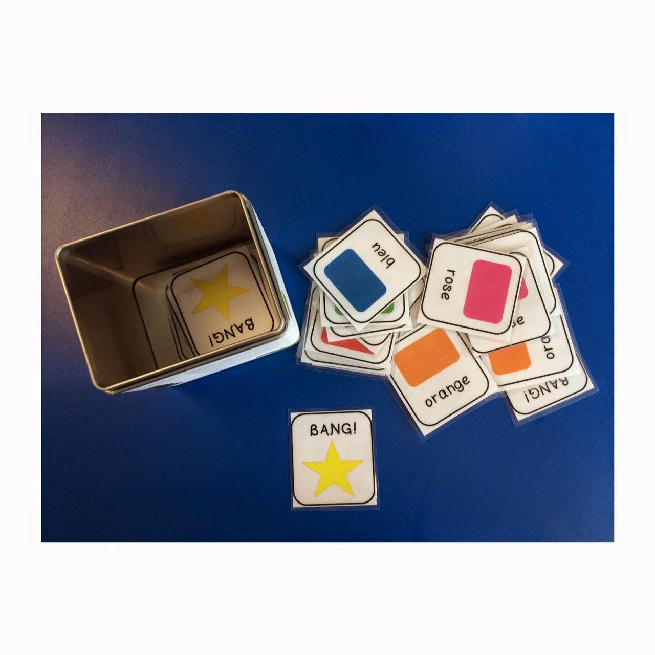 Primary French Immersion Resources Colours And More