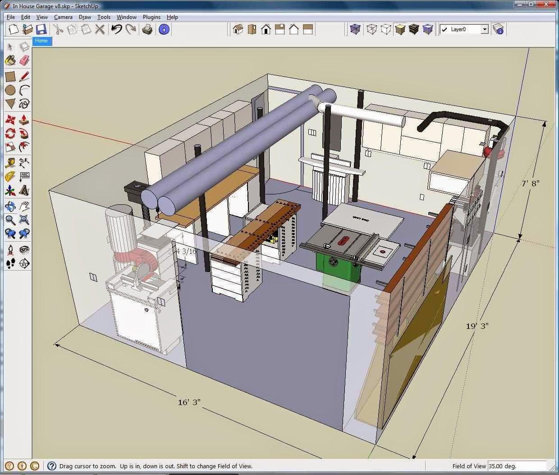 Image result for sketch up make cluster 5 2018 cadd and - Interior design computer programs ...