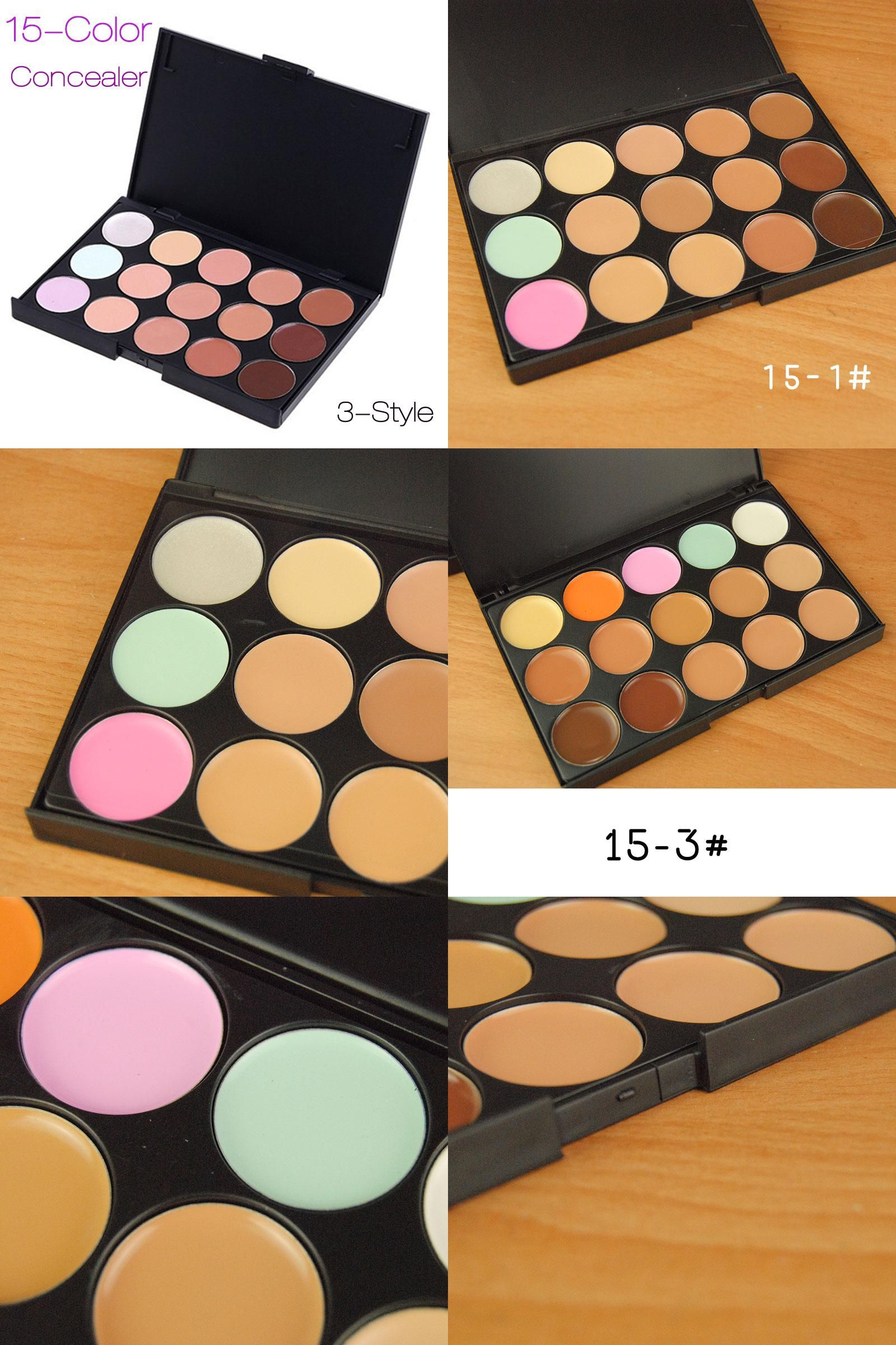 [Visit to Buy] New Makeup Concealer Palette 15 Color