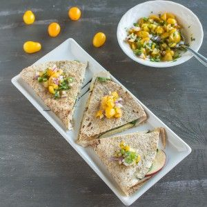 Five-Ingredient Fridays: 5-Minute Chicken Quesadilla | Healthy Nibbles & Bits