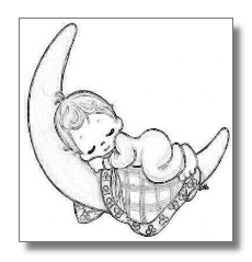 coloring pages for adults only coloring pages baby bratz - Coloring Pages Babies Sleeping