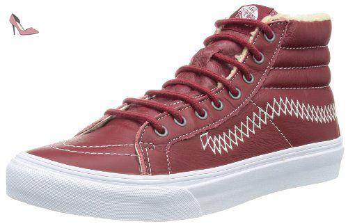 Vans Sk8-Hi VKYAL9K, Chaussures de skateboard mixte adulte - Marron-TR-I3-162, 36.5 EU