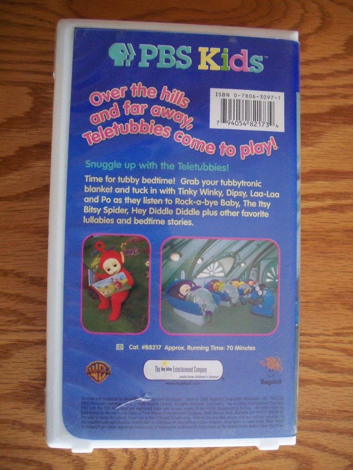 Vintage Teletubbies VHS Tape Bedtime Stories and Lullabies Tested ... 9b21f4076edaf