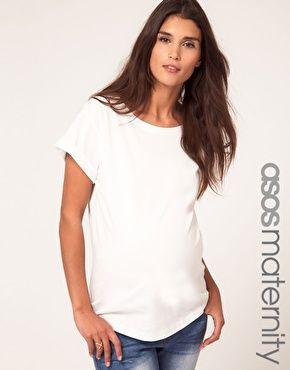 6dee3287d89e ASOS Maternity Boyfriend T-Shirt any color but blue