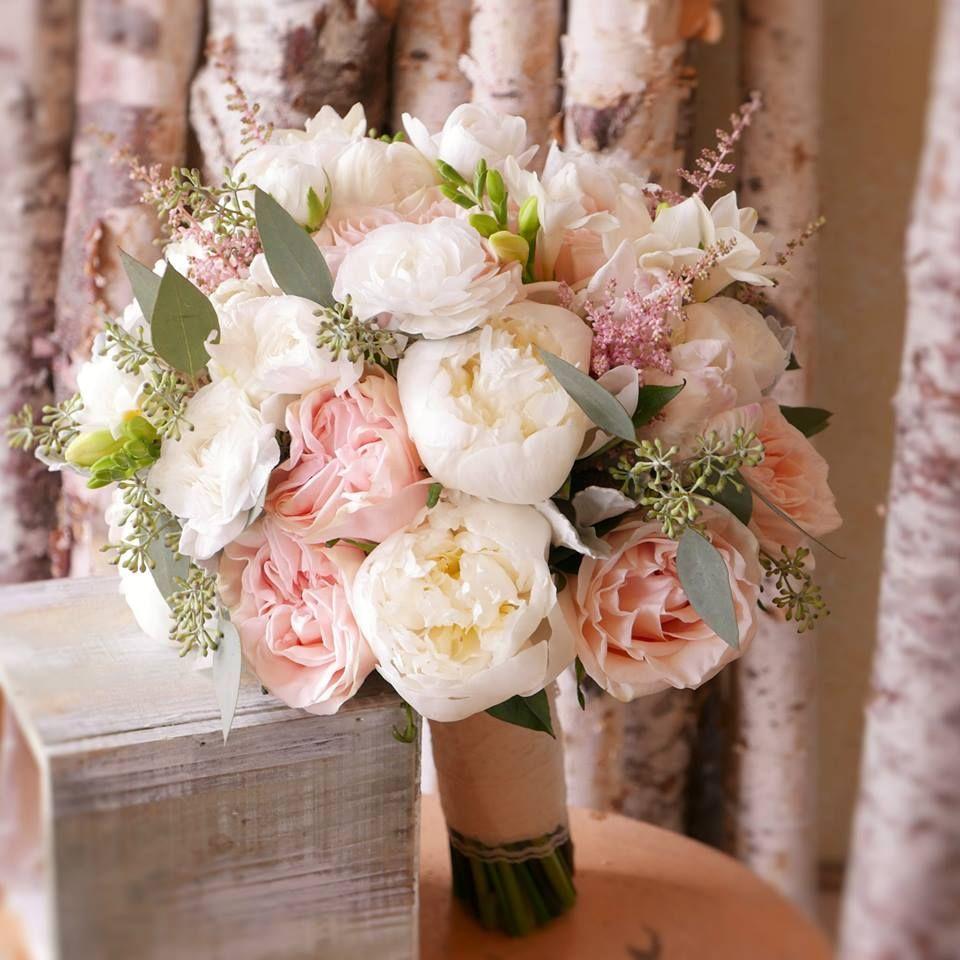 Peonies Garden Roses Ranunclus Astilbes Freesias Parrot