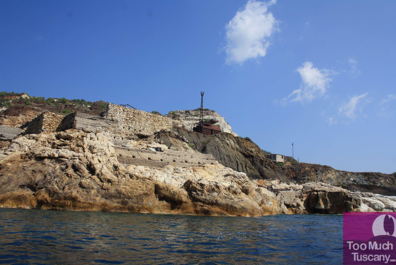 La vecchia miniera di Capoliveri Insel elba, Toskana