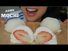 Asmr Mochi Fresh Fruits Best Mochi I Ve Ever Had Sticky Soft Eating Sounds No Talking Sas Asmr Youtube Fresh Fruit Mochi Eat Listening to whisper voice and eating sounds are some examples that trigger asmr. pinterest