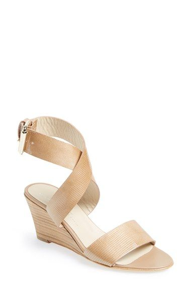f2d43a573fa AGL Attilio Giusti Leombruni Ankle Wrap Wedge Sandal (Women) available at   Nordstrom