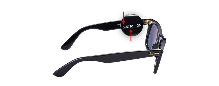 Ray-ban sunglasses frame size   Sunglasses   Pinterest   Sunglasses ... 5d5542e60877