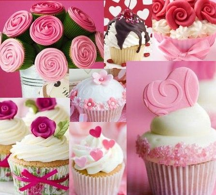 Merveilleux Image Detail For  Valentineu0027s Day Cupcake Decorating Ideas From Celebrating  .lower Right Cupcake Idea