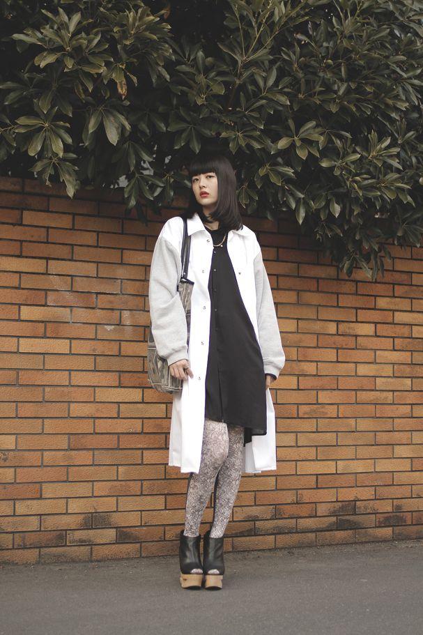 [Street Style] 円 | 大学生 | Harajuku (Tokyo)