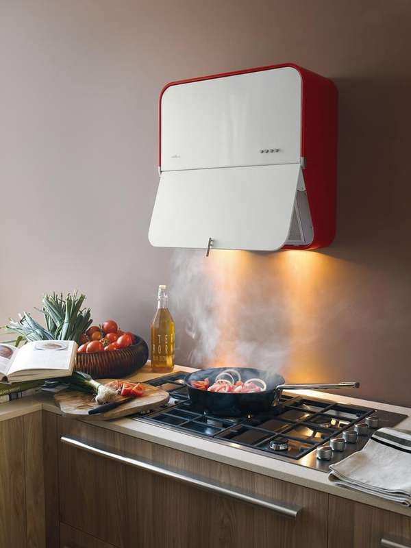 Steamer For A Range Hood ~ Space saving stove vents extractor hood vent and