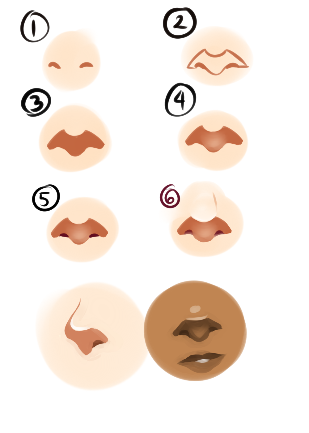Art References Nose Drawing Anime Art Tutorial Art Reference