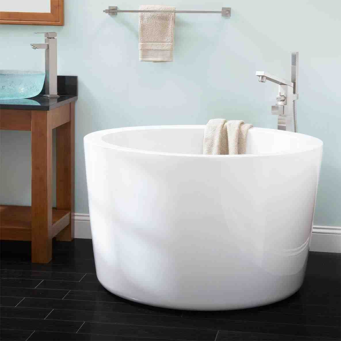 This 2 person soaking tub with shower - corner drop in soaking tub ...