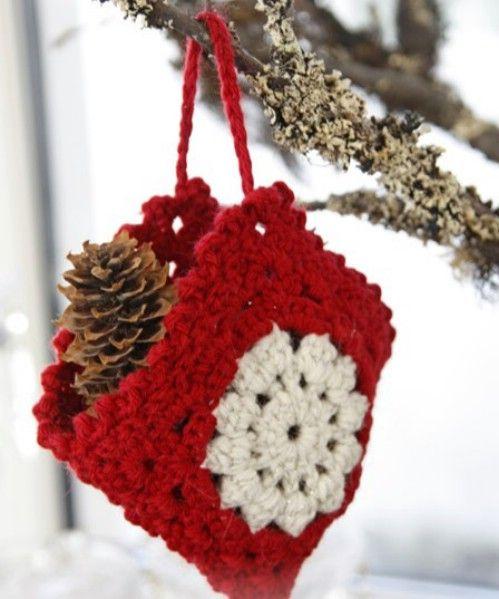 30 einfache h keln weihnachtsschmuck um ihren baum zu dekorieren stricken h keln h keln - Baum dekorieren ...