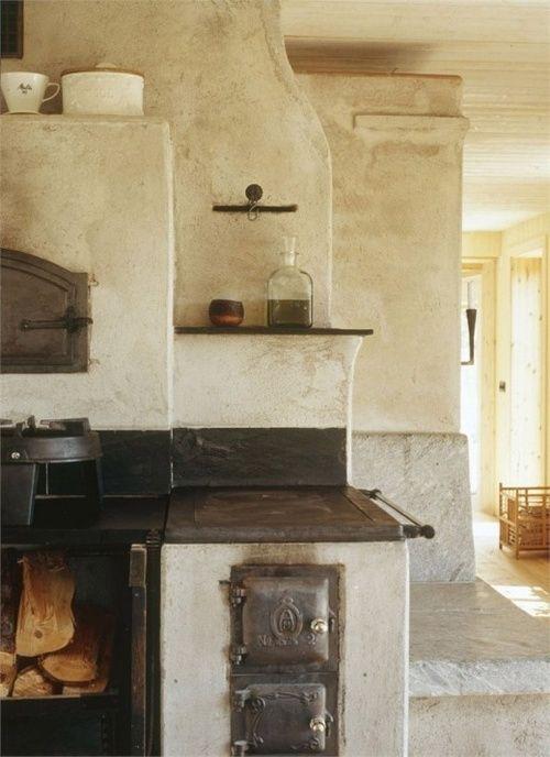 vecchia cucina | Deko interieur, Grundofen und Holzherd