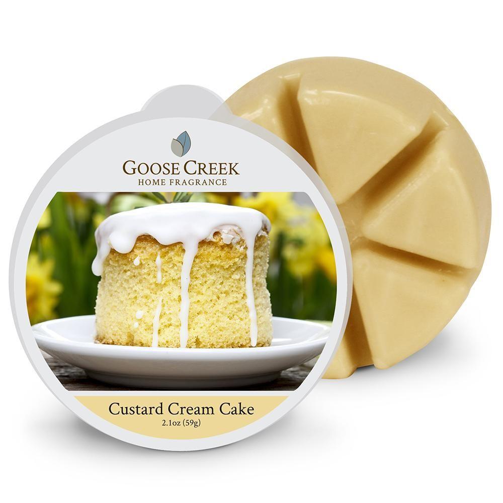 Custard cream cake wax melt in 2020 custard cream cake