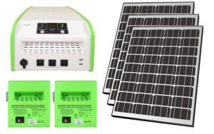 Best Emergency Solar Kit Nature Powerpak 1800 Watt Portable Solar Generator For Use In Emergency Conditions Rv An Solar Kit Solar Technology Solar Power Diy