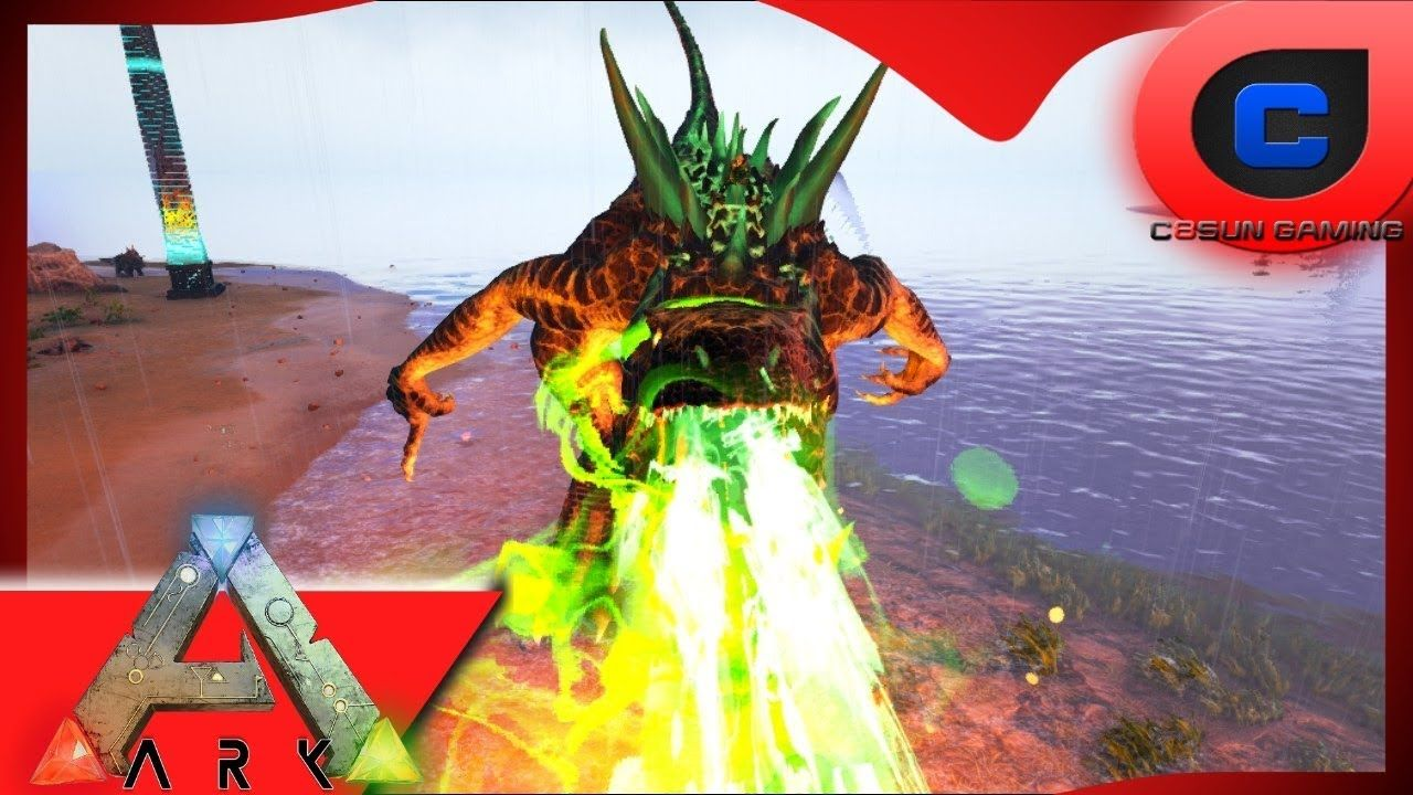 Ark: Mod Show Case - Gaia, Jurassic Park Expansion, Godzillark