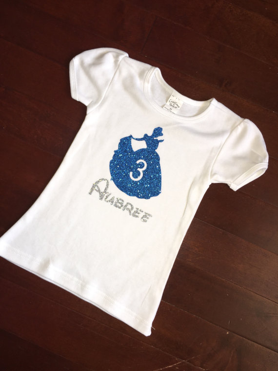 Cinderella Birthday Shirt By ThePerfectAddedTouch On Etsy