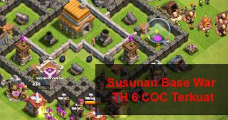 Susunan Base Coc Th 6 6
