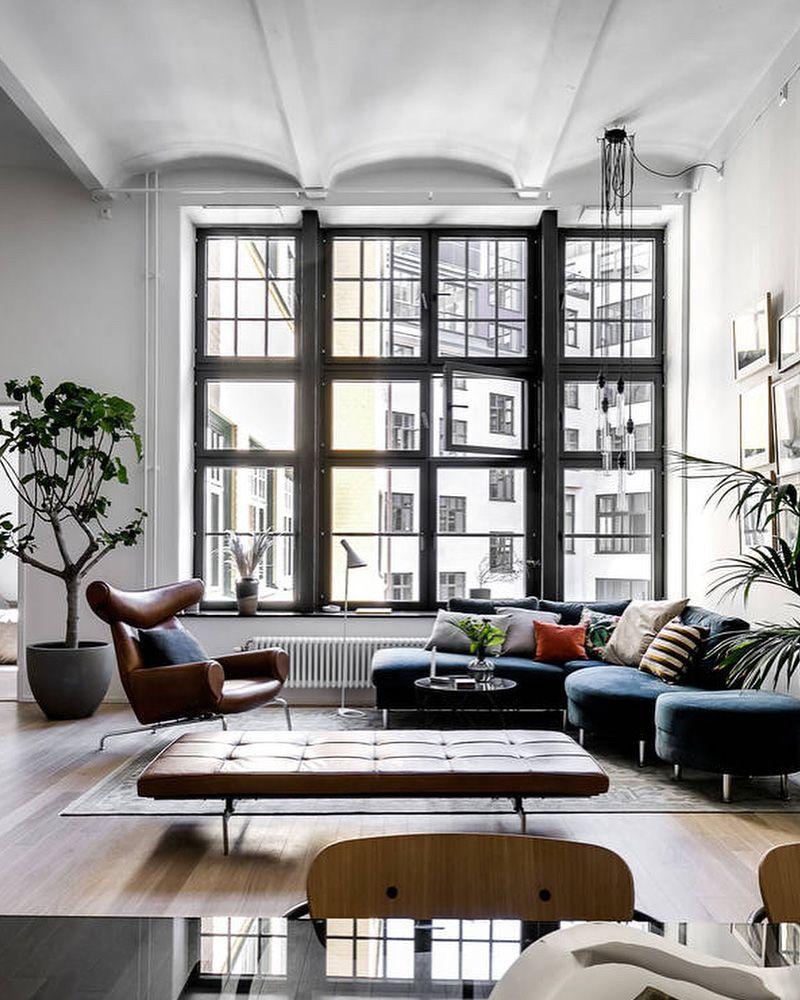 3 superbes loft repérés sur Instagram | Décoration ...