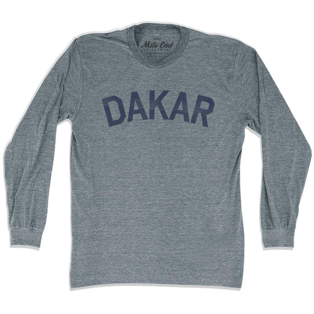 Dakar City Vintage Long Sleeve T-shirt