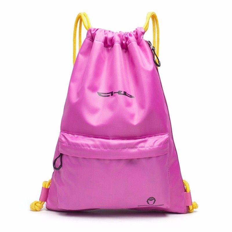 d62943704de9 Dual Use Gym Bag Large Drawstring Outdoor Sport Waterproof Backpack ...