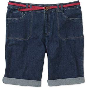 9fd82c3c57 Faded Glory Women s Plus-Size Denim Bermuda Shorts