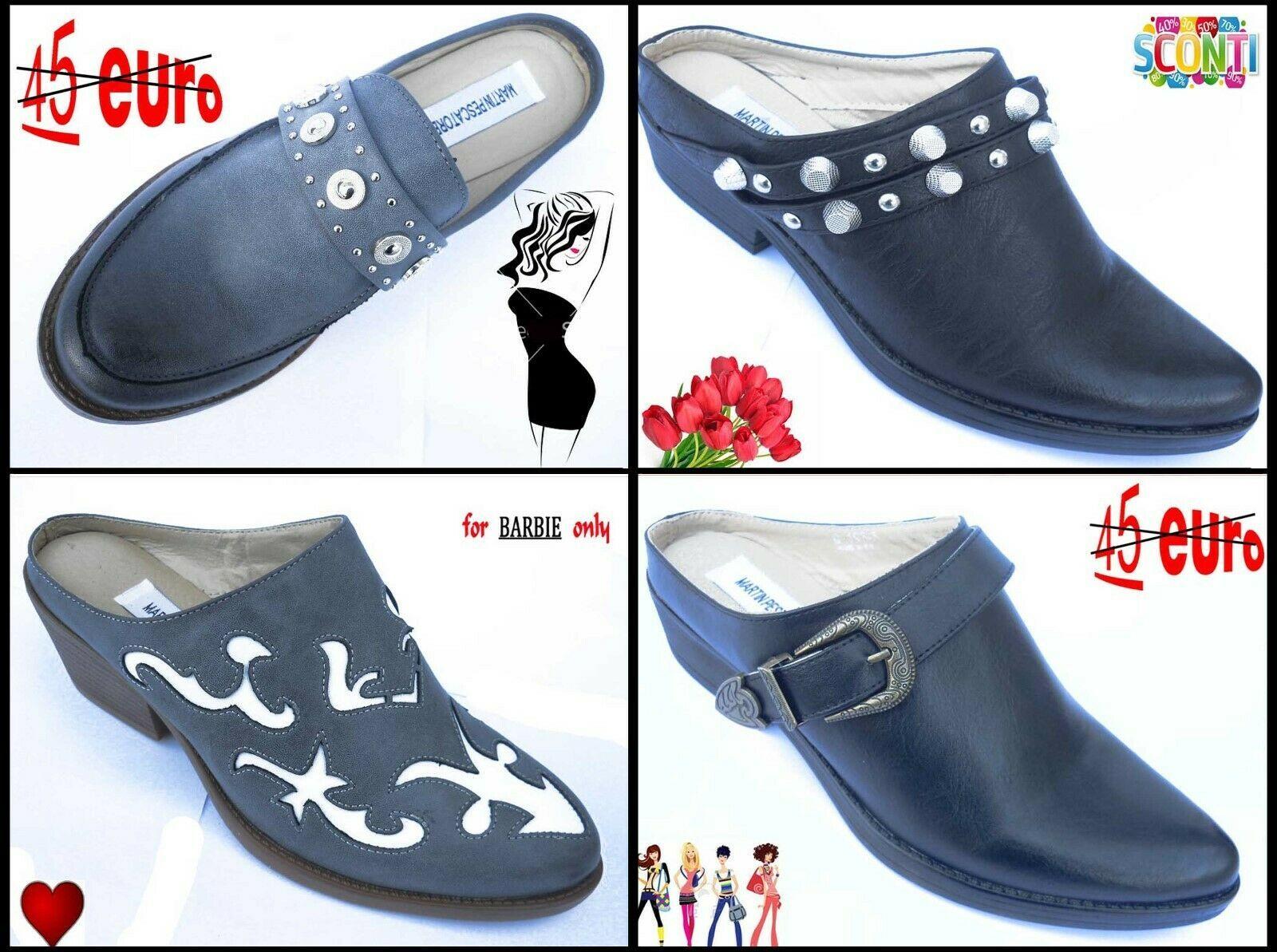 Photo of SABOT DONNA PANTOFOLE COWBOY TEXANI scarpe donna -50% INGROSSO  – Scarpe Tacco -…
