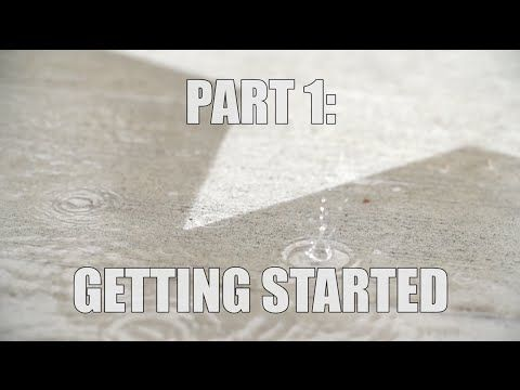 How to Make Rain-Activated Art – Rainworks