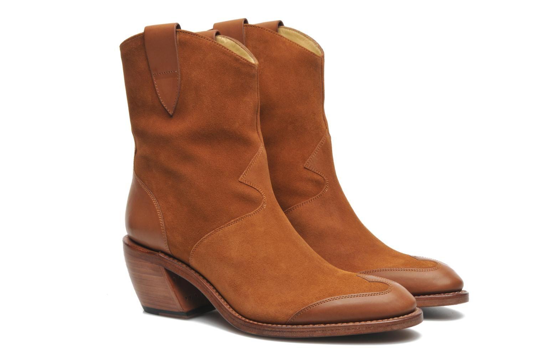 Free Lance Iona 7 West Boot (Marron) - Bottines et boots chez Sarenza 1c3525fd37b