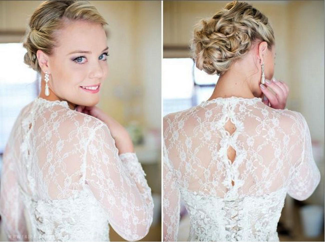 Wedding Hairstyles for Straight Hair | Wavy wedding hairstyles ...